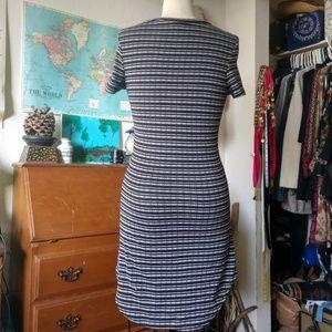 CaCia Dresses - Black and Grey Tunic/Dress by CaCia